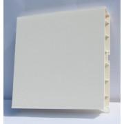 Цоколь ПВХ Белый H=100, L=4 м.
