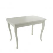 КУСТО стол, Молочный, 1100(1450)х700
