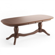 ВИКТОРИЯ стол, Темный орех, 2200 (3200)x1040