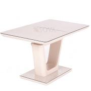 Стол Hant (140-180)х80х76  см мат.латте/кремовый