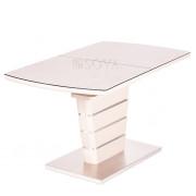 Стол Toledo (140-180)х80х76  см мат.латте/кремовый