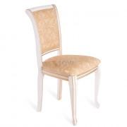 КАБРИОЛЬ стул, Эмаль белая золото