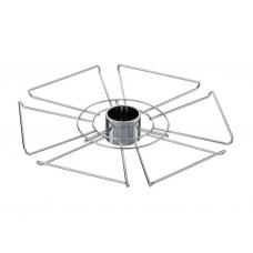 Полка для бокалов d=360 мм ( хром )