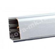 Плинтус для столешниц KORNER Алюминий Сатина 3м. LB-37-450