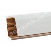 Плинтус для столешниц KORNER Бриллиант Белый 3м. LB-37-460