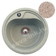 Мойка GRANSINK ES-10-302 D=440 мм песочная
