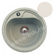 Мойка GRANSINK ES-10-331 D=440 мм белая