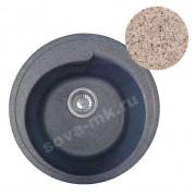 Мойка GRANSINK D=450 мм песочный