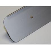 Планка торцевая 38 мм. универсальная ( матовая )