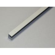 Планка торцевая 6 мм. (матовая)