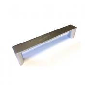 Ручка L-128мм. матовый хром