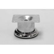 Опора сталь D50 h=50 мм. (хром) нерегулируемый