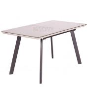 Стол Lilla (140-180)х80х76  см мат.мокка/темно-коричневый