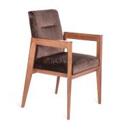 ВЕГАС-2 кресло, Орех/H06