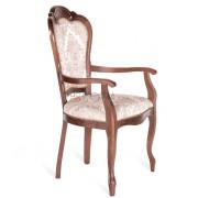 ГРАФ-2 кресло, Темный орех/E50