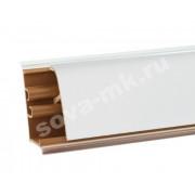 Плинтус для столешниц KORNER Белый блеск 3м. LB-37-478
