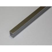 Планка торцевая 4 мм (хром)