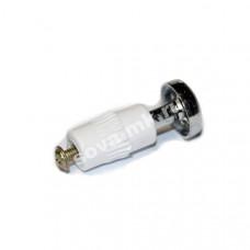 Заглушка рейлинга d16 мм Ретро хром